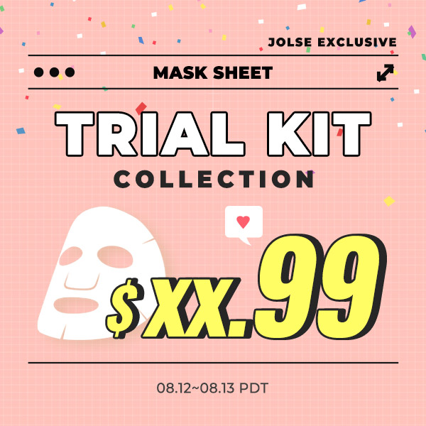 MASK SHEET TRIAL KIT Collection $xx.99