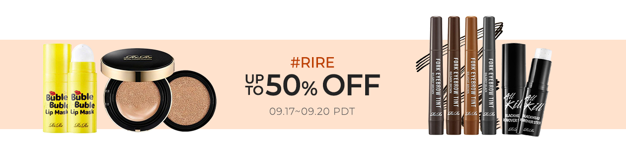 RiRe Up to 50% OFF