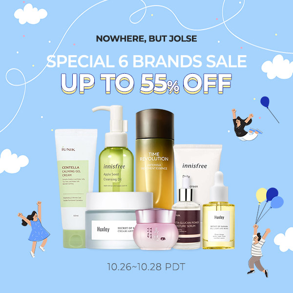 WEEKLY SPECIAL 6 BRANDS SALE!