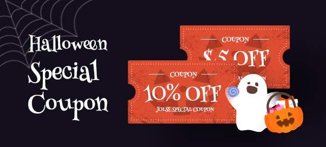 Halloween Special Coupon