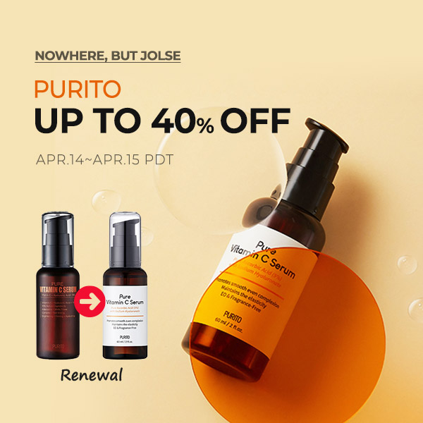 PURITO Up to 40% OFF