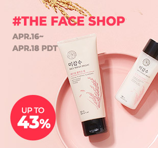 The FACE Shop Up to 43% OFF