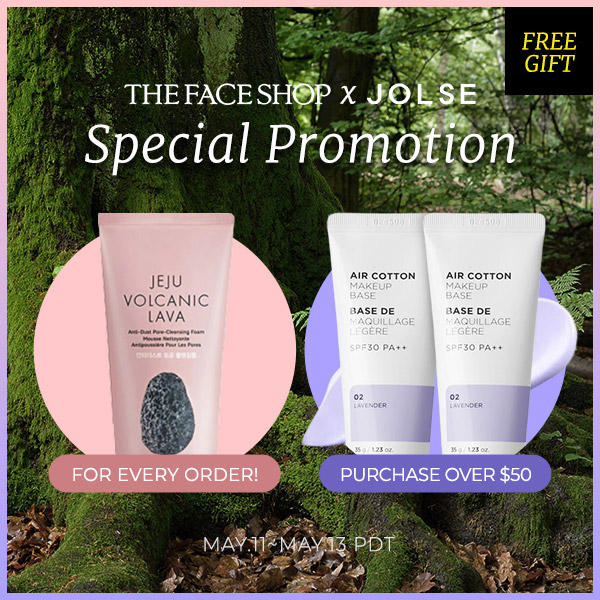 The FACE Shop Up to 35% OFF! + Free Gift!!