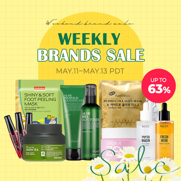 Weekly Brand Sale! Up to 63% OFF