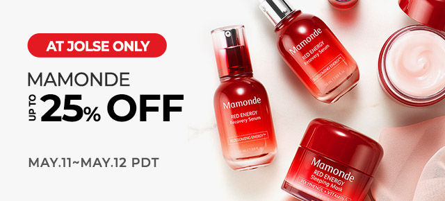 MAMONDE Up to 25% OFF