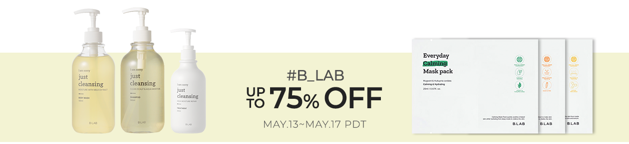 B_LAB Up to 75% OFF