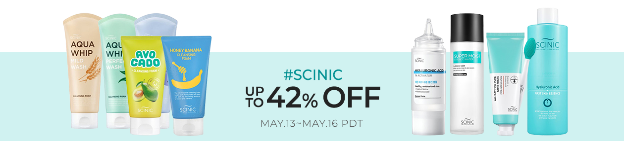 SCINIC Up to 42% OFF