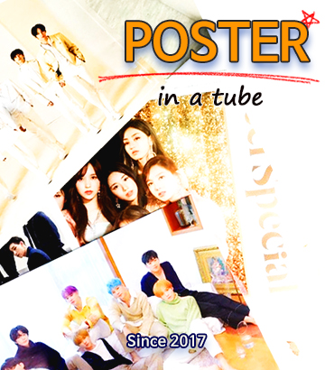 POSTER in a tube