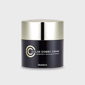 DEOPROCE COLOR COMBO CC CREAM / Bright skin with richer !<br>color and tone