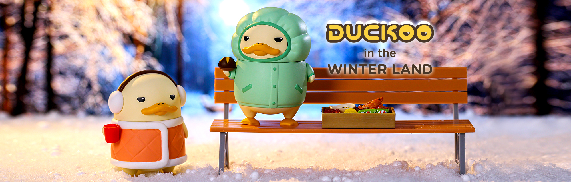 Duckoo in the Winter Land