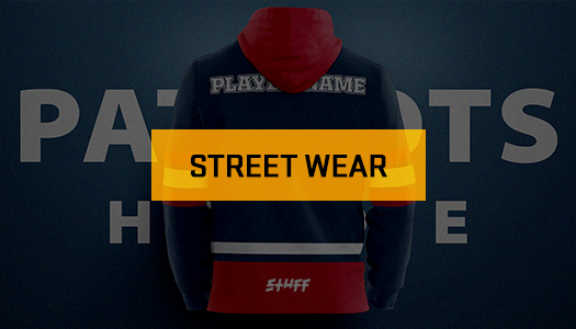 <strong>STREET WEAR × STUFF</strong>ACTIVE STREET WEAR