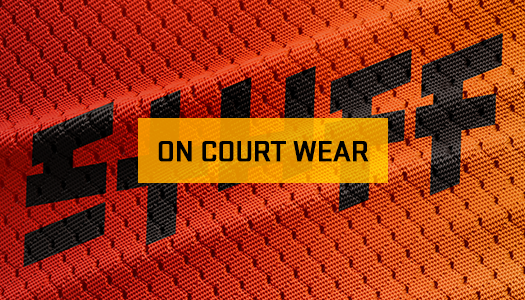 <strong>ON COURT WEAR × STUFF</strong>ON COURT WEAR COLLECTION