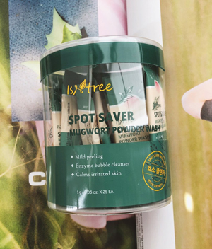 [REVIEW] ISNTREE SPOT SAVER MUGWORT...<span> The powder cleanser to reach for when... </span>