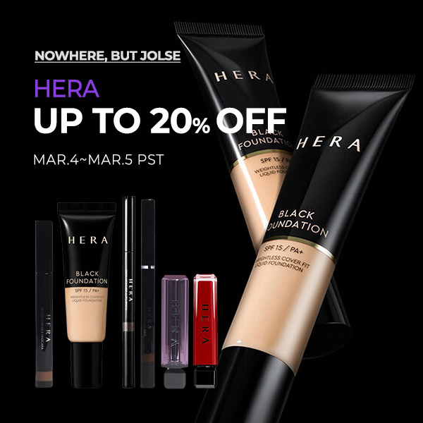 HERA Up to 20% OFF