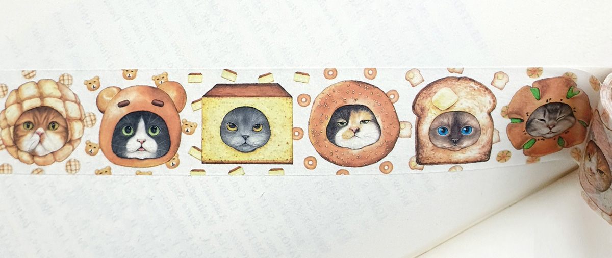 Masking tape - Bread Cats