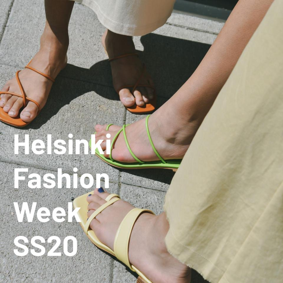 OPEN PLAN X Helsinki Fashion Week SS20